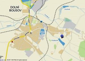Mapa Hýsek